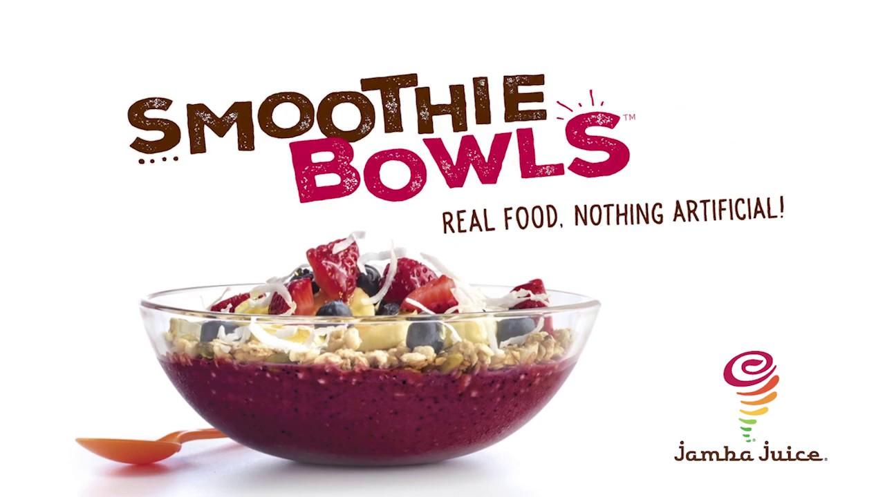 Jamba Juice Smoothie Bowls Youtube
