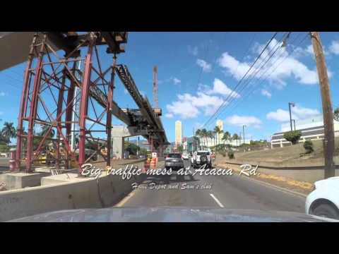 Honolulu Rail Project drive by Feb. 15, 2016