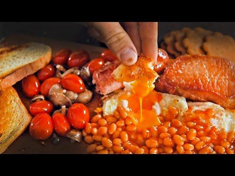 English Breakfast iarna la cabană