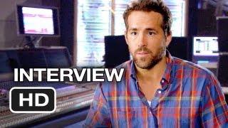 The Croods Interview - Ryan Reynolds (2013) - Animate Movie HD