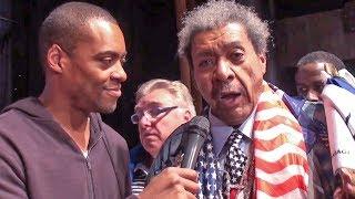 DON KING on Anthony Joshua to Muhammad Ali comparison