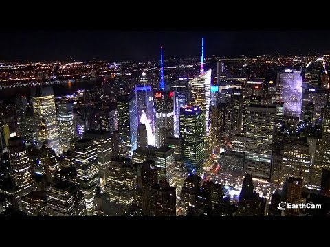 New Year's Eve - Times Square in 4K – EarthCam
