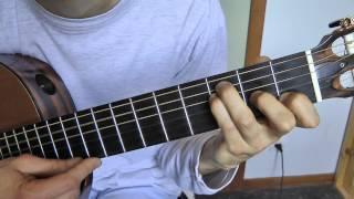 Tuto guitare - Joyeux Anniversaire [Happy birthday to you] (3 / 3) en DO (en C)