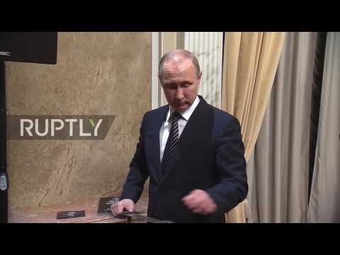 Russia: Putin watches screening of film dubbed Russian 'Game of Thrones'