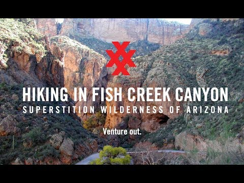 Hike Fish Creek Canyon In Superstition Wilderness Arizona By 4XPEDITION