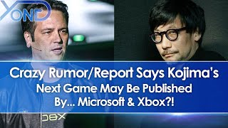 Crazy Rumor/Report Says Kojima's Next Game May Be Published By... Microsoft & Xbox?!