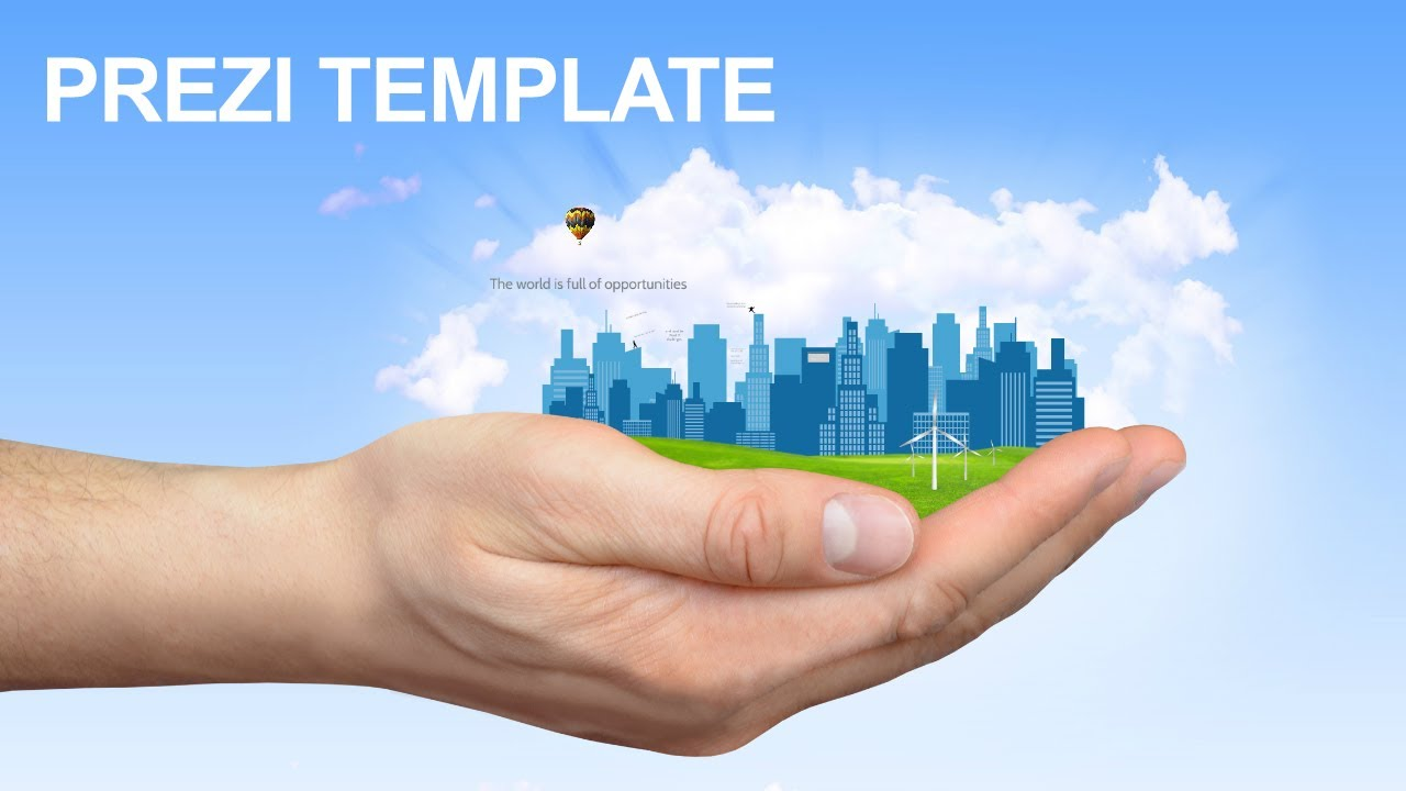 reach your goals - prezi template - youtube, Powerpoint templates