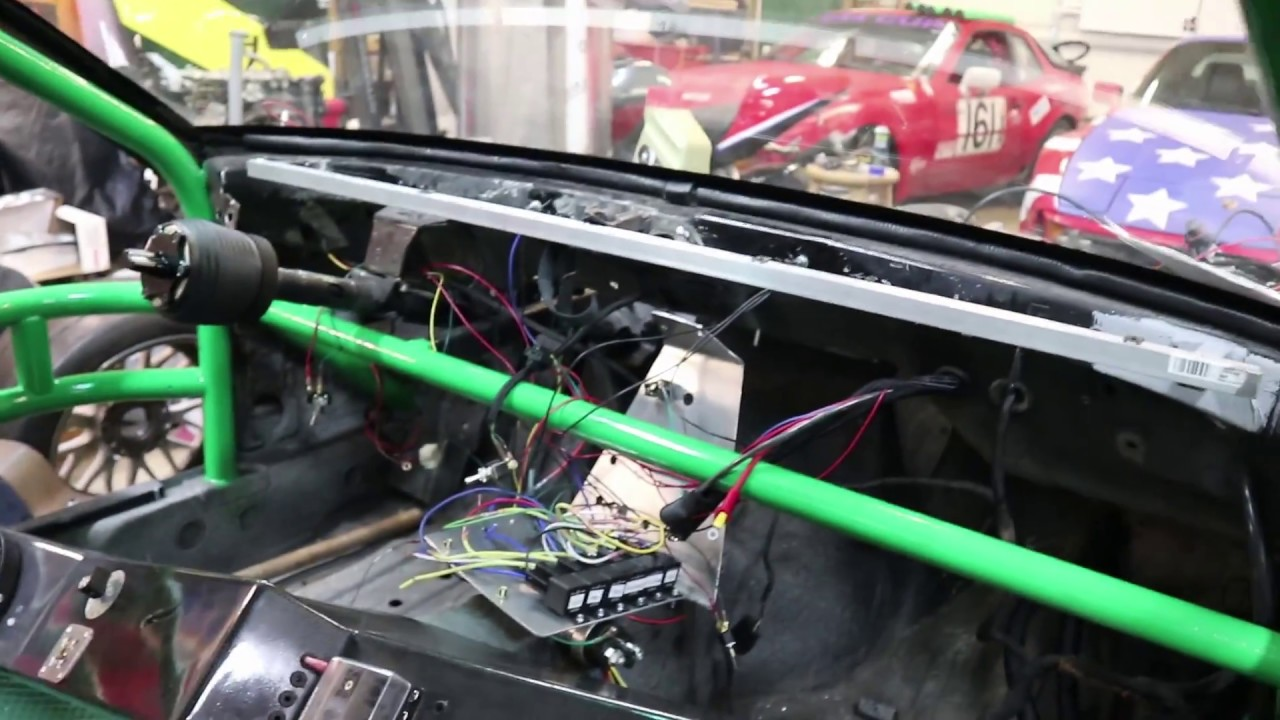Wiring up the Emtron ECU in the LS3 944 track car