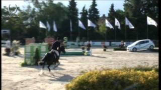Bart van der Maat & El Greco winnaars finale jonge paarden 5,6,7 jarige Jumping Etten-Leur