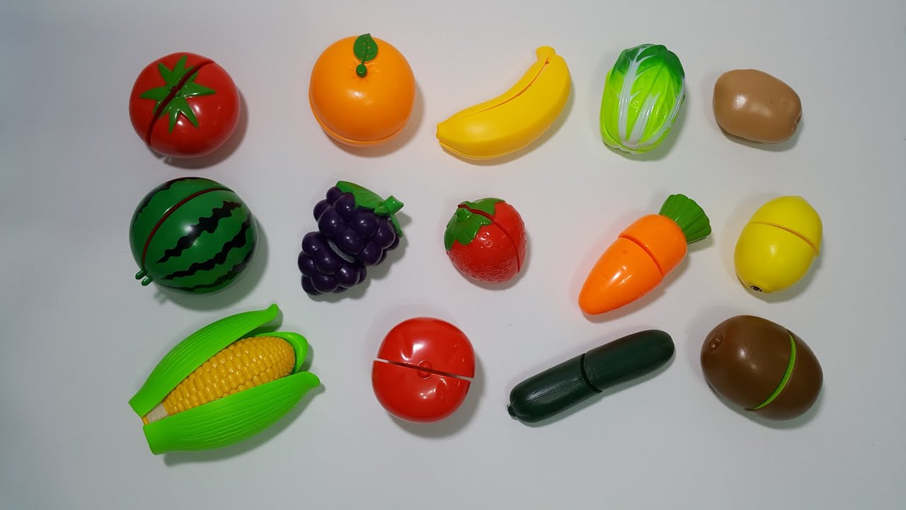 Learn Names Of Fruits And Vegetables Efficiently With Toy