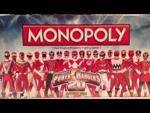 Power Rangers Monopoly 20th Anniversary Edition [Power Rangers 20]