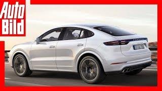 видео Porsche Cayenne Coupe 2020