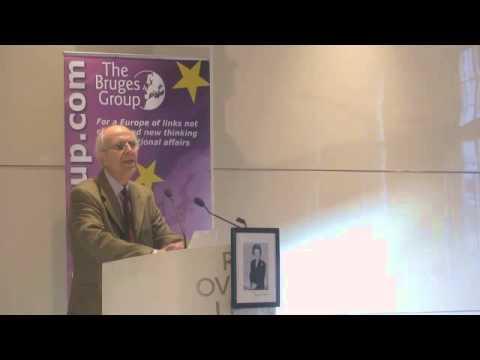 Lord Tebbit addresses Bruges Group International 2015