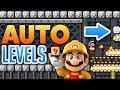 Super Mario Maker - AWESOME AUTO LEVELS!