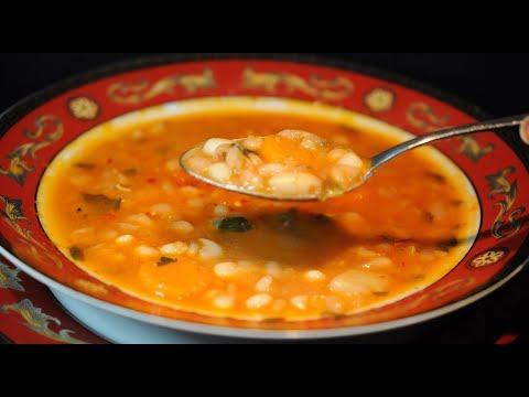 φασολάδα παραδοσιακή κλασική συνταγή της γιαγιάς/traditional bean soup cuzinagias