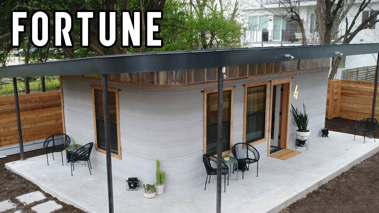 check out the first 3d printed home in the u s to receive a permit for occupancy i fortune. Black Bedroom Furniture Sets. Home Design Ideas