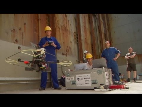 euronews innovation - Robot ship inspectors