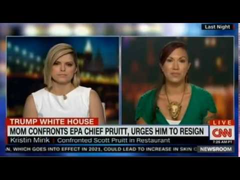 mom-confronts-epa-chief-pruitt,-urges-him-to-resign-on-cnn-news