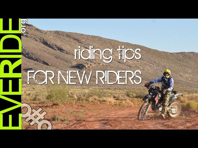 ADV, Enduro, & Dual Sport Motorcycle Tips for New Riders by a N00b o#o