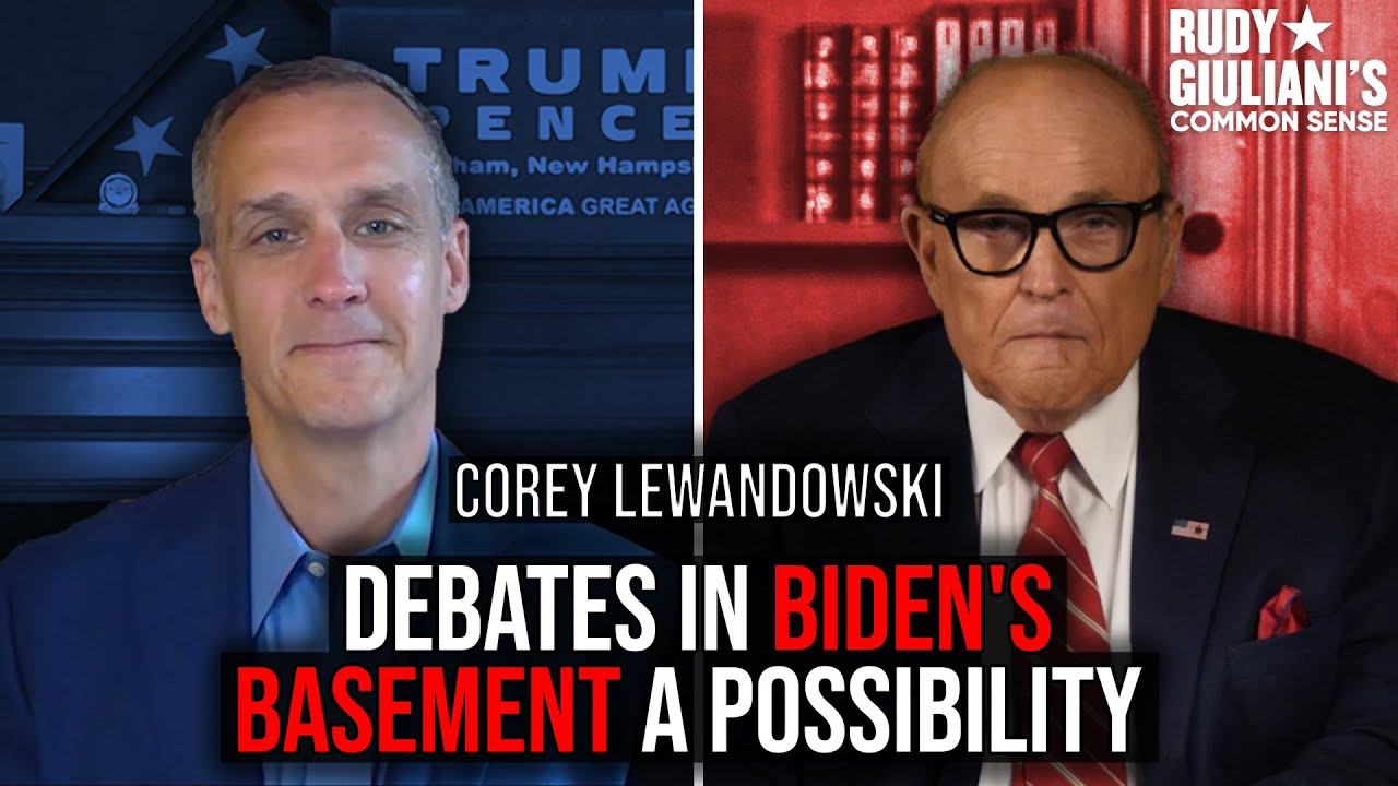 Debates In Biden's Basement A Possibility | Corey Lewandowski And Rudy Giuliani | Ep. 47