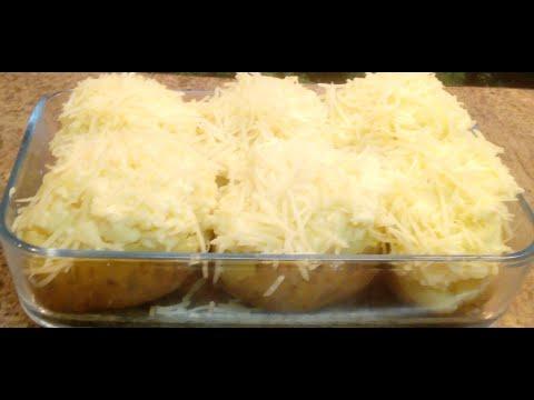🌟😁⭐️*recette-simple-de-pommes-de-terre-en-robe-de-chambre*cuisson-au-micro-onde-🌟😁🍲⭐️👌