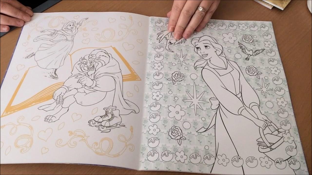 Présentation Du Livre Mes Coloriages De Rêve La Belle Et La Bête