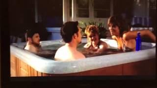 Entourage malibooty hot tub scene