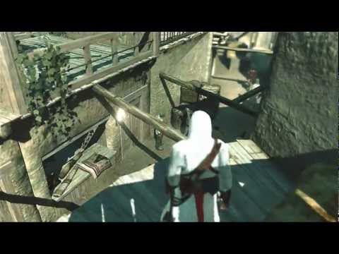 Assassin's Creed (PC) - Jerusalem Gameplay Walkthrough & Scenes [HD]