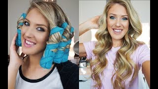 The Sleep Styler First Impression/Review⎮ No Heat Curls!
