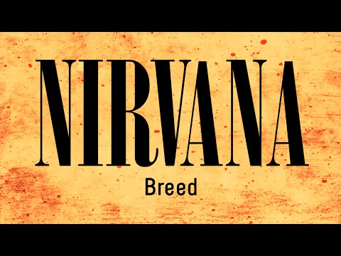 Nirvana - Breed (backing track for guitar)