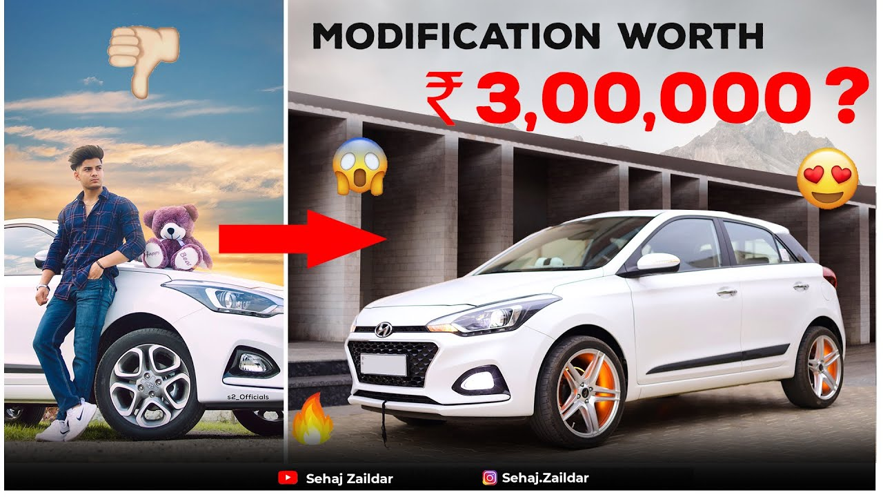 Download My Car Got Completely Modified | Hyundai i20 Modifications | Sehaj Zaildar