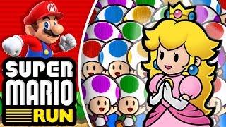 ¡Peach de la suerte! - Super Mario Run
