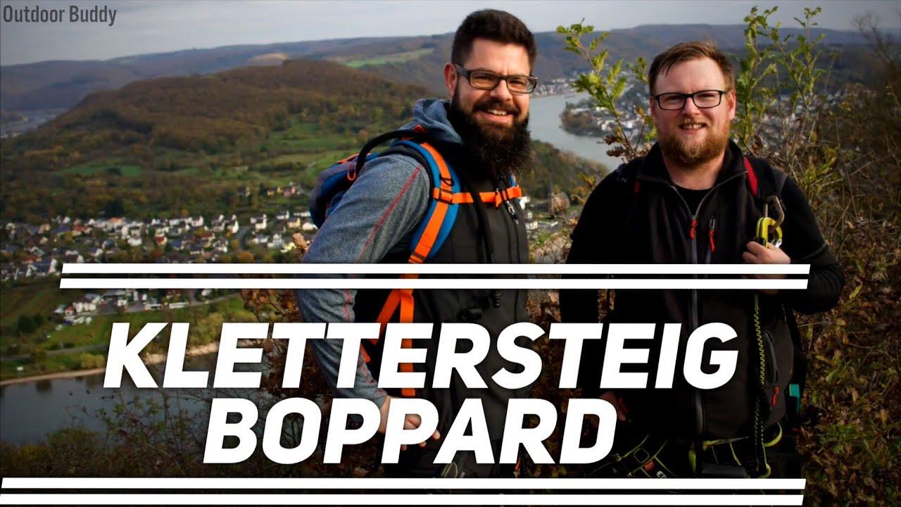 Klettersteig Rhein Boppard : Mittelrhein klettersteig in boppard outdoorbuddy youtube