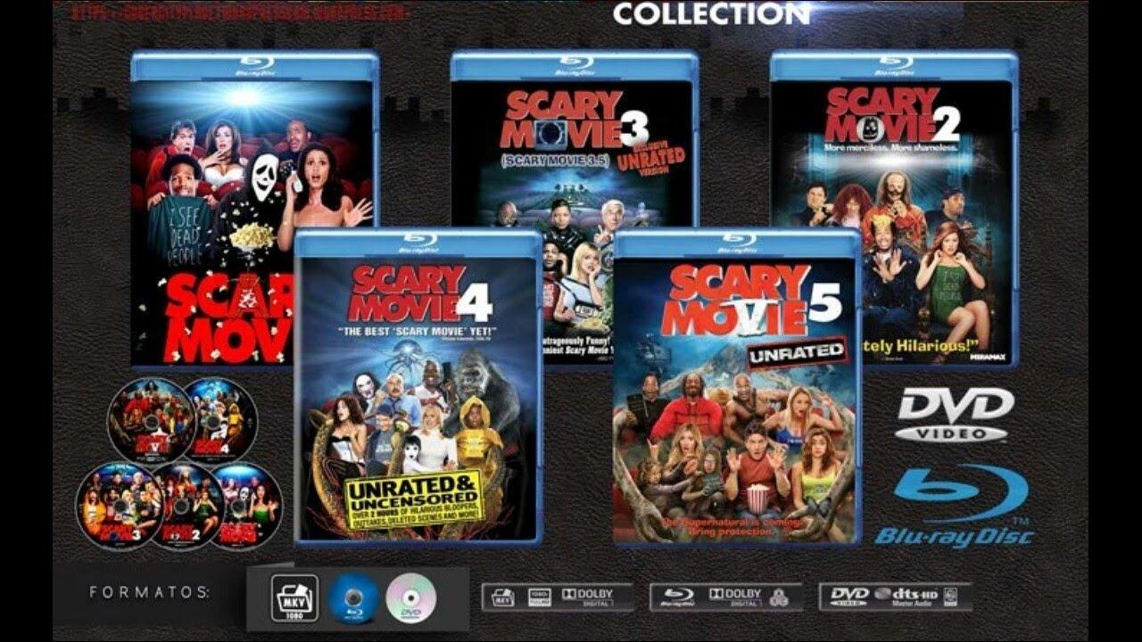 scary movie 1 2 3 4 5 en espa241ol completas youtube