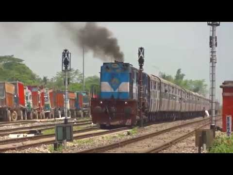 [IRFCA] WDM3D Okha-Guwahati Dwarka Express Departing From Changsari