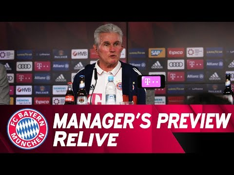 FC Bayern Manager's Preview w/ Jupp Heynckes ahead of Leipzig | ReLive