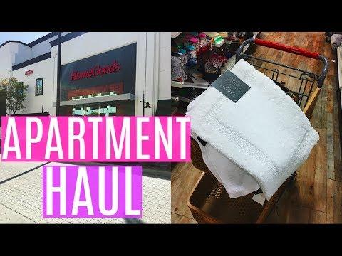 Bathroom Makeover + Apartment Haul | HOME GOODS & TARGET