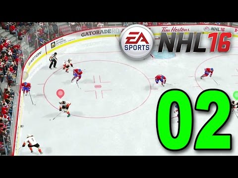 NHL 16 - Part 2 - Insane Matchup! (EA Sports Hockey League Gameplay)