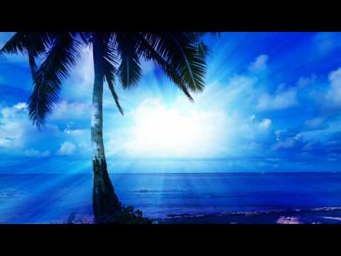 1 HOUR  Relaxing Music with Tropical Beach Scene for Meditation and Relaxation South Pacific Vlog