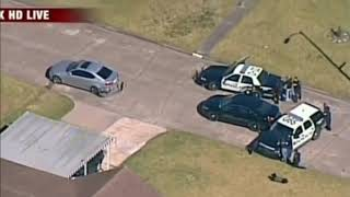 Insane Pursuit Houston Police Chase Car Over 100 MPH!