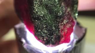 【低調與奢華】尼泊爾 紅寶綠簾石 RZ01
