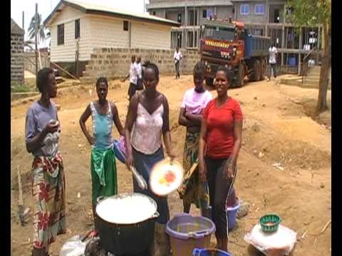 leonechild lunch Freetown Sierra Leone