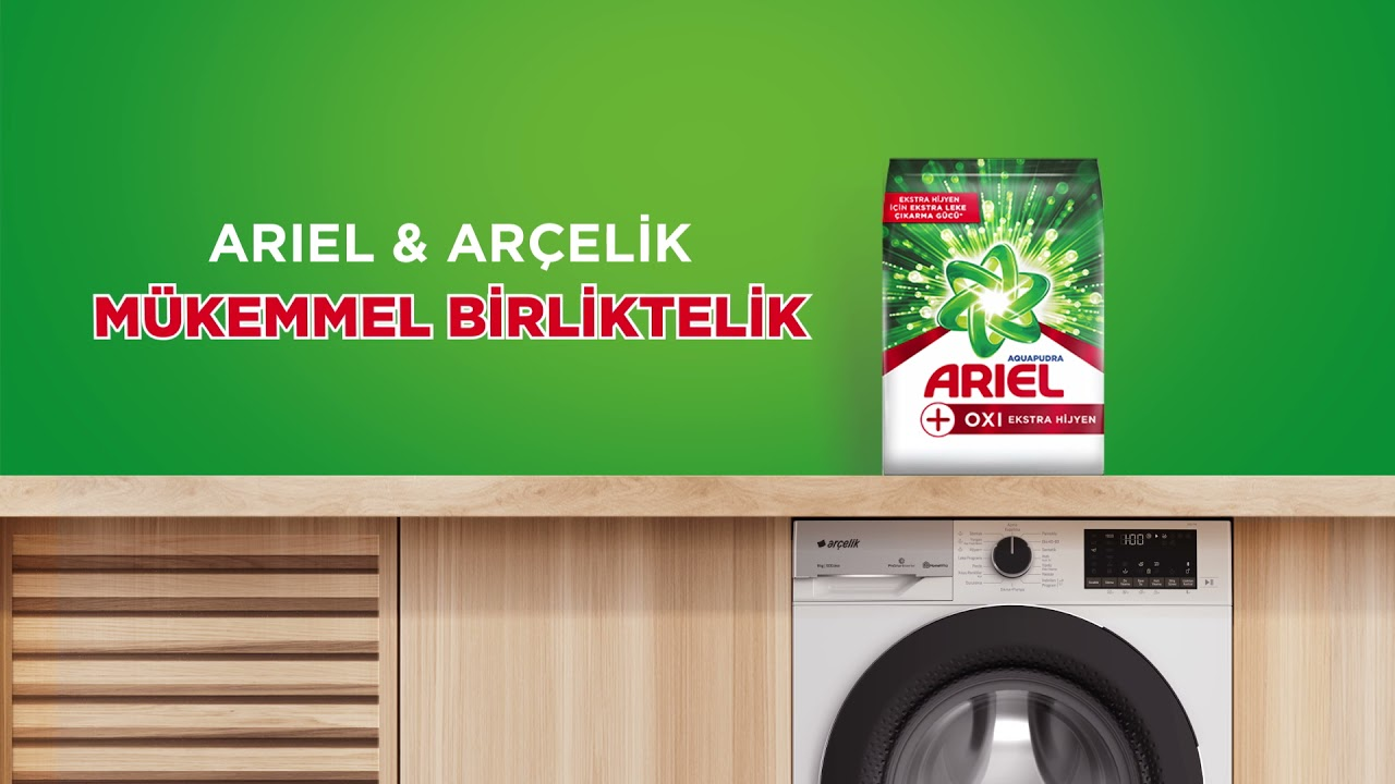 Arçelik, hijyen için temizlikte ARIEL'i öneriyor!