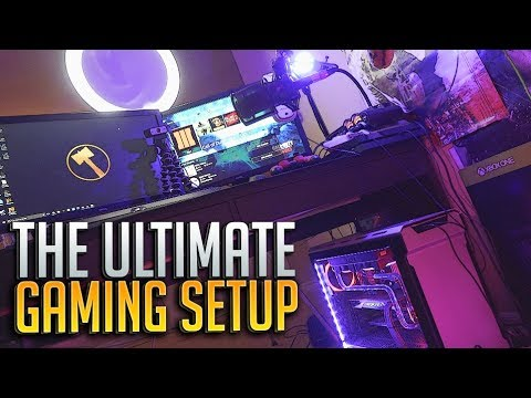 My Ultimate 10000 Gaming Setup Amp Room Tour Youtube