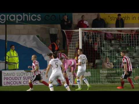 Highlights: Lincoln CIty 2 - 0 Dagenham and Redbridge