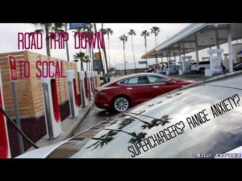 Road Trip Down to SoCal | Tesla Journey