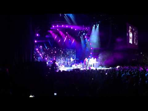 This is where it all begins! - Lady Antebellum and Hunter Hayes (first time performing live)