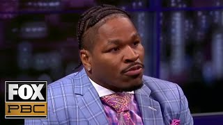 "Shawn Porter: ""I think he (Ortiz) will win in a unanimous decision."" 