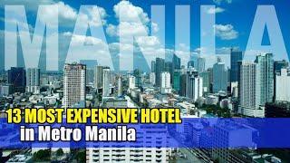 Manila Most Expensive Hotel   Jay Near