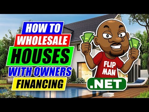 How to Wholesale Houses Using Owner Financing | Wholesaling Houses Step by Step for Beginners